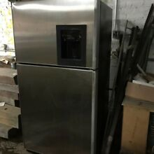 Stainless Steel GE fridge