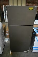 GE GTE18GMHES 28  Slate Top Freezer Refrigerator NOB  43336 HRT
