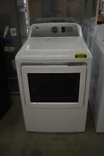 GE GTD65GBSJWS 27  White Front Load Gas Dryer7 4 Cu Ft   43421 MAD