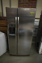 GE GSS23GSKSS 33  Stainless Side By Side Refrigerator NOB  43416 HRT