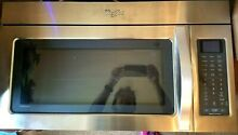 New Whirlpool Stainless Steel Under Cabinet Microwave  with Hood