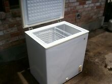 GE Chest Deep Freezer 5 Cu Ft Compact Dorm Upright Apartment Home Storage  Used