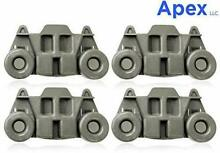 Dishwasher Premium Wheels Lower Rack for WhirlPool Kenmore Kitchenaid Pack of 4