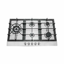 Cosmo 850SLTX E 30  Gas Cooktop with 5 Burners  Counter Top Cooker Cooktop with