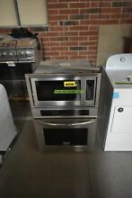 Frigidaire FGMC2765PF 30  Stainless Combo Electric Wall Oven NOB  30672 HRT