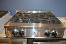 BlueStar RGTNB304BSS 30  Stainless Pro Style Open Burner Gas Rangetop  30170 MAD
