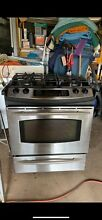 GE Profile Freestanding Gas Oven in Stainless Steel