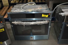 GE Profile PT9051SLSS 30  Stainless Single Electric Wall Oven NOB