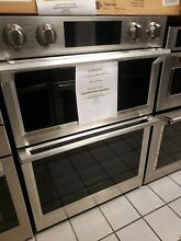 SAMSUNG 30  MICROWAVE COMBINATION WALL OVEN STAINLESS STEEL  NQ70M7770DS