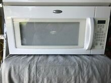 MICROWAVE OVEN   WHIRPOOL  STANDARD  Over the Range   1000W   WHITE