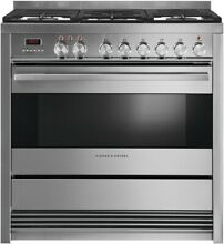 Fisher Paykel OR36SDWGX1 36  Stainless Convection Dual Fuel Range NIB  37943 MAD