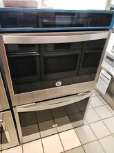 WHIRLPOOL 30  STAINLESS ELECTRIC CONVECTION DOUBLE WALL OVEN WOD77EC0HS