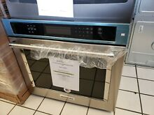 KITCHENAID STAINLESS 30  SINGLE ELECTRIC CONVECTION WALL OVEN KOSE500ESS