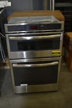 GE JK3800SHSS 27  Stainless Combo Microwave Thermal Wall Oven NOB  43564 MAD
