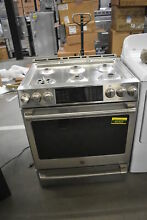 GE Cafe CGS986SELSS 30  Stainless Slide In Gas Range  42422 MAD