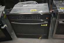 GE Profile PT7050BLTS 30  Black Stainless Single Wall Oven NOB  30583 HRT