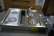 KitchenAid KCGD500GSS 30  Stainless Downdraft Natural Gas Cooktop NOB  30155 HRT
