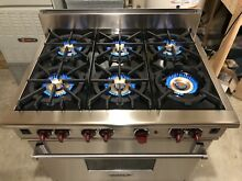 Watch Up Close Look   Testing on YouTube   36  Wolf  All Gas Range Stove Oven