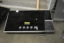 Jenn Air JEC3536BS 36  Stainless 5 Element Electric Cooktop NOB  45100 HRT