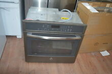 GE Profile PT7050EHES 30  Slate Single Electric Wall Oven NOB  28238 CLW
