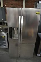 LG LSXS26366S 36  Stainless Side By Side Refrigerator NOB  45215 HRT