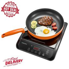 OMORC 1800Q  1800W Portable Electric Induction Cooker  Easy to Use  5 25 X 13 75