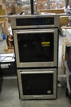 KitchenAid KODC304ESS 24  Stainless Double Electric Wall Oven NOB  45182 HRT
