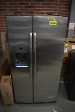 GE Adora DSE25JSHSS 36  Stainless Side By Side Refrigerator  39797 CLW