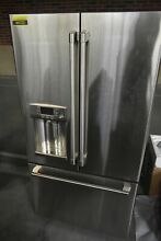 GE Cafe CYE22TP2MS1 36  Stainless French Door Refrigerator CD  44132 HRT