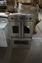 Viking VDOF730SS 30  Stnless FrenchDoor Electric Double Wall Oven NOB  32569 HRT