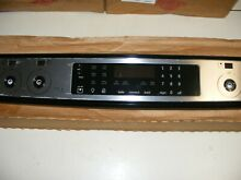 Frigidaire Range Stainless Steel Console 139059402 139059417 Keypad Assembly
