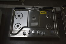 Whirlpool WCG97US0HS 30  Stainless 5 Burner Gas Cooktop NOB  37372 MAD