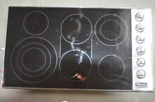 Viking VEC5366BSB 36  Stainless 6 Element Electric Smoothtop Cooktop  29455 MAD