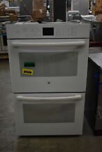 GE PT7550DFWW 30  White Double Electric Wall Oven NOB  41721 HRT