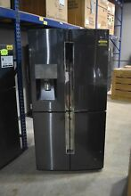 Samsung RF28K9070SG 36  Black Stainless French Door Refrigerator NOB  36213 CLW