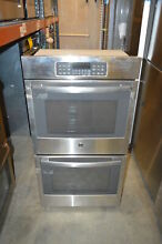 GE JK3500SFSS 27  Stainless Electric Double Wall Oven NOB  11735 MAD