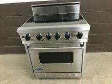 Viking VESC3064BSS   30  Electric Range 4 Burner Stainless Steel
