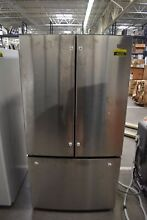 GE GNE27JSMSS 36  Stainless French Door Refrigerator  46235 HRT