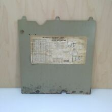Vtg KENMORE Washing Machine REAR COVER PANEL 85279 357335 353085