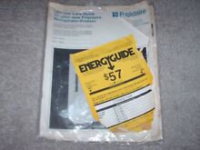 Vintage 1979 Frigidaire Refrigerator Freezer Use and Care Guide Food Keeping Tip