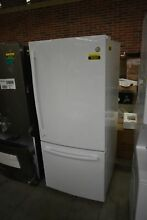 GE GBE21DGKWW 30  White Bottom Freezer Refrigerator  46686 HRT