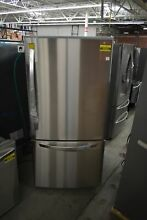 LG LDCS24223S 33  Stainless Bottom Freezer Refrigerator NOB  46993 HRT