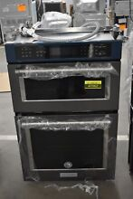 KitchenAid KOCE507EBS 27  Black Stainless Combo Double Wall Oven NOB  47062 HRT