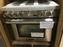 NIB Thermador PRD366JGU 36  Dual Fuel Pro Grand Range 6 Burners Stainless Steel