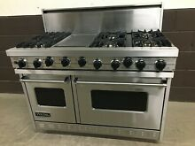Viking 48  Professional Range VGSC4876GSS Gas 6 Burners   Griddle Stainless