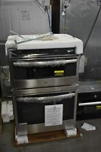 GE Profile PT7800SHSS 30  Stainless Combination Double Wall Oven NOB  47279 HRT