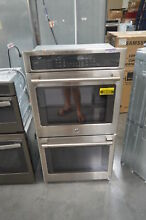 GE CK7500SHSS 27  Stainless Double Electric Wall Oven NOB  28436 HRT