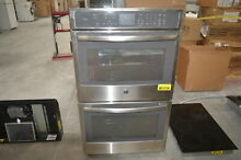 GE PT7550SFSS 30  Stainless Double Electric Wall Oven NOB  28476 HRT