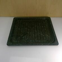 ANTIQUE White Star 1420 LD Gas Stove   BROILER PAN TRAY w  GRATE