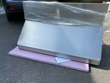 54 inch Vent A Hood SS  SLXH18 454 w  Warming Bar and 12  Wall Cover included